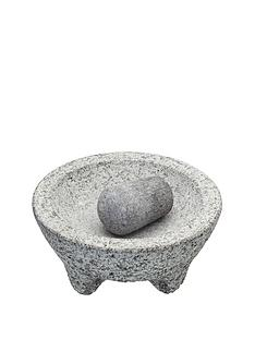 world-of-flavours-mexican-granite-mortar-and-pestle-set