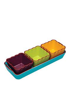 world-of-flavours-mexican-ceramic-dip-serving-set-4-piece