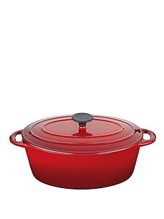 master-class-cast-iron-red-5-litre-oval-casserole-dish-with-lid