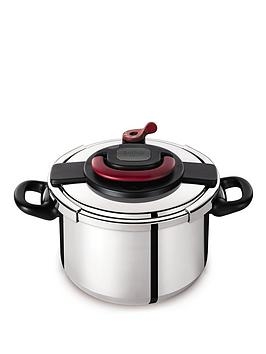tefal-clipso-6-litre-pressure-cooker-stainless-steel