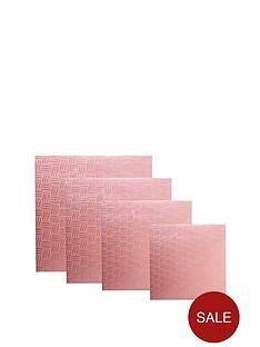 mason-cash-4-piece-square-cake-board-set-pink
