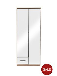 cologne-mirror-2-door-1-drawer-wardrobe
