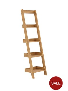 narrow-ladder-shelf