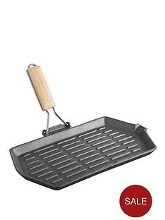 viners-cast-iron-33-cm-griddle-black