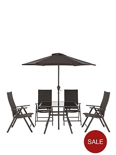 sorrento-6-piece-square-garden-dining-set-with-optional-next-day-delivery
