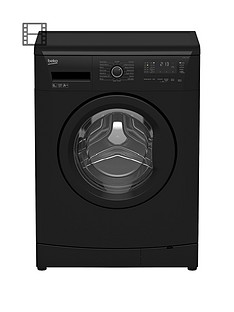 beko-wmb61432b-6kg-load-1200-spin-slim-washing-machine-black