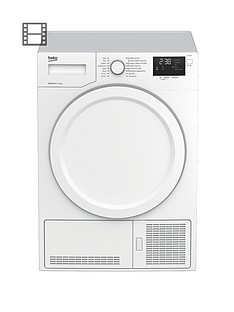 beko-dhy7340w-7kg-condenser-dryer-with-heat-pump-white