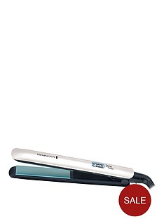 remington-s8500-shine-therapy-straightener-white