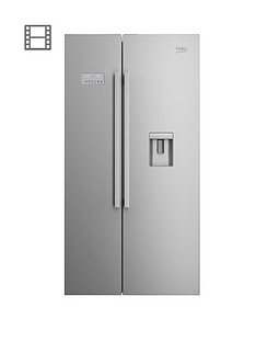 beko-asd241x-usa-style-fridge-freezer-with-stored-water-stainless-steel