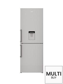 beko-cfp1675ds-60cm-frost-free-combi-fridge-freezer-silver
