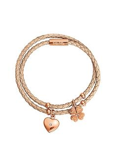 folli-follie-sweetheart-collection-beige-double-wrap-bangle-with-rose-gold-plated-charms
