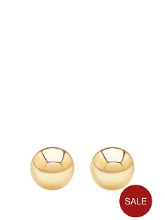 andralok-andralok-9-carat-yellow-gold-5mm-ball-stud-earrings