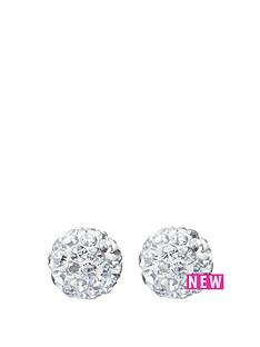 andralok-9-carat-yellow-gold-6mm-glitterball-crystal-stud-earrings