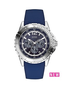 guess-maverick-blue-sunray-multi-dial-blue-silicone-strap-mens-watch