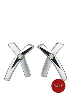 hot-diamonds-sterling-silver-crossover-earrings