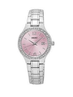 seiko-pink-dial-stainless-steel-bracelet-ladies-watch