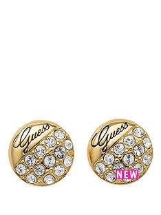 guess-crystal-crush-gold-tone-ball-stud-earrings