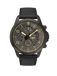 accurist-chronograph-grey-dial-with-black-leather-strap-mens-watch