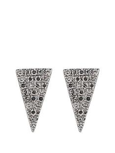 love-diamond-9-carat-white-gold-10-point-pave-diamond-triangular-earrings