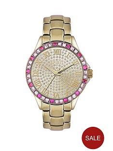 spirit-gold-tone-stone-set-bracelet-ladies-watch