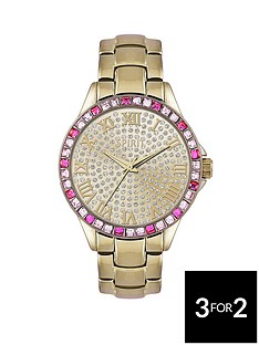 spirit-gold-tone-stone-set-bracelet-ladies-watch