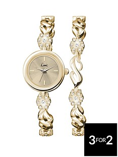 limit-white-mother-of-pearl-dial-silver-coloured-ladies-watch-with-matching-bracelet-and-pendant-trio