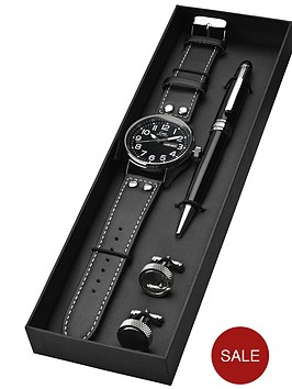 limit-pilot-range-black-silver-coloured-day-and-date-mens-watch