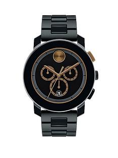 movado-bold-black-plated-black-dial-with-bronze-highlights-chronograph-mens-watch