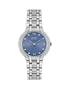citizen-eco-drive-bella-diamond-blue-face-stainless-steel-bracelet-ladies-watch