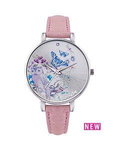 accessorize-woodland-silver-tone-case-and-pale-pink-strap-ladies-watch