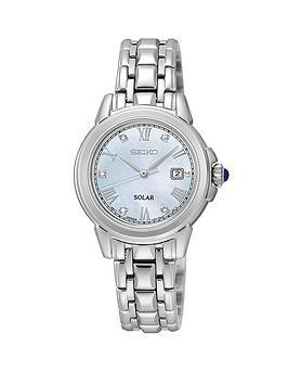 seiko-mother-of-pearl-diamond-dial-solar-powered-stainless-steel-bracelet-ladies-watch