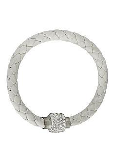 white-crystal-bracelet-and-black-flower-style-purse-gift-set