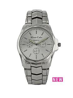 thomas-calvi-silver-tone-bracelet-mens-watch