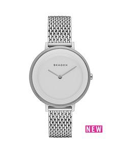 skagen-ditte-stainless-steel-mesh-strap-ladies-watch