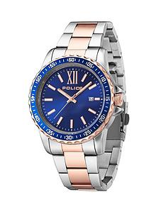 police-las-vegas-two-tone-stainless-steel-bracelet-mens-watch