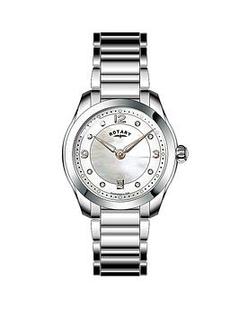 rotary-white-mother-of-pearl-crystal-set-dial-stainless-steel-bracelet-ladies-watch