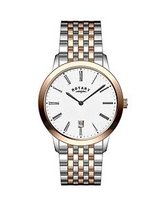 rotary-rose-gold-and-stainless-steel-bracelet-mens-watch