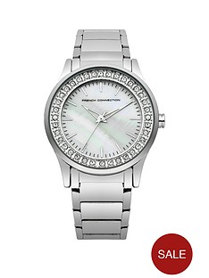 french-connection-crystal-set-dial-silver-tone-stainless-steel-breacelet-ladies-watch