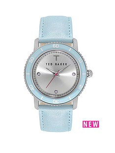 ted-baker-silver-dial-blue-leather-ladies-watch
