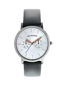 ted-baker-multifunction-grey-leather-strap-mens-watch
