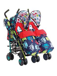 cosatto-supa-dupa-twin-stroller-cuddle-monster-2