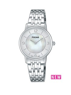 pulsar-mother-of-pearl-white-dial-stainless-steel-ladies-watch