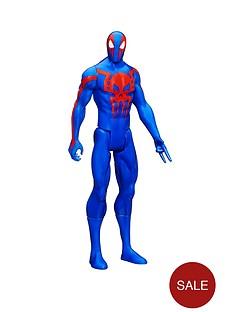 spiderman-marvel-titan-hero-series-spiderman-2099-figure
