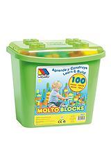 Blocks Box 100 Pieces - Green