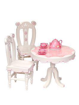 Our Generation Tea Parlor Table and Chairs