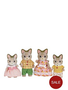sylvanian-families-striped-cat-family