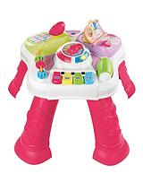 Play and Learn Activity Table - Pink