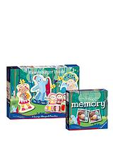 Memory Game and Puzzle - Twin Pack