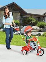 4-in-1 Deluxe Ride and Relax Recliner Trike