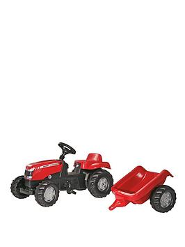 rolly-toys-massey-ferguson-tractor-and-trailer